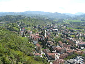 Cortese - The village and vineyards of Gavi in the Alessandria province where Cortese has a long history of cultivation.