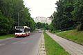 Gdańsk ulica Góralska i autobus 136.JPG