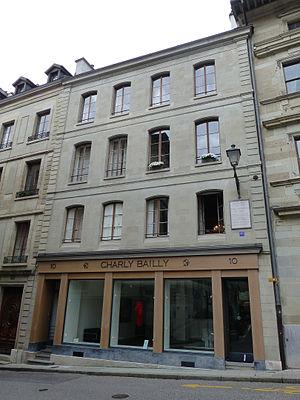 Ioannis Kapodistrias - Residence of Kapodistrias in Geneve