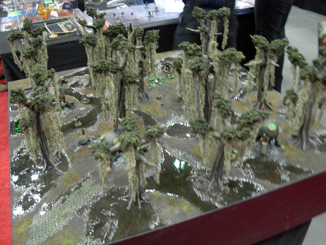 Star Wars Floor Plans File Gen Con Indy 2007 Miniature Wargame Terrain Board