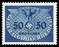 Generalgouvernement 1940 D10 Dienstmarke.jpg