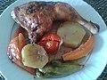 Generous portion of roasted chicken.jpg