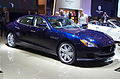 Geneva MotorShow 2013 - Maserati Quattroporte blue.jpg