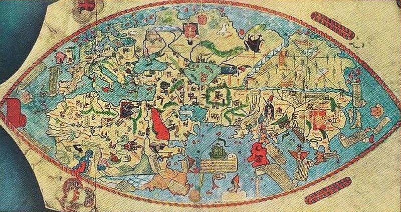 genoese map 1457