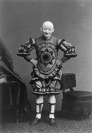 George L. Fox (clown) - Image: George L Fox 001x