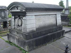 De Lacy Evans - Funerary monument, Kensal Green Cemetery, London