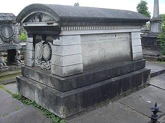 De Lacy Evans - Funerary monument, Kensal Green Cemetery, London