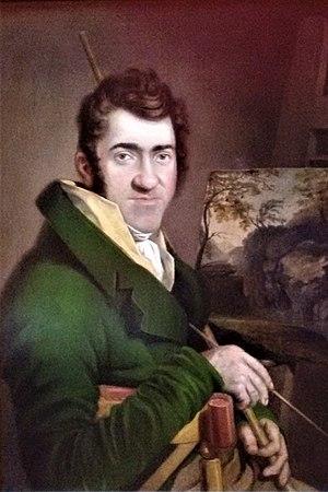 George Barret Jr. - Self portrait, George Barret Jr.