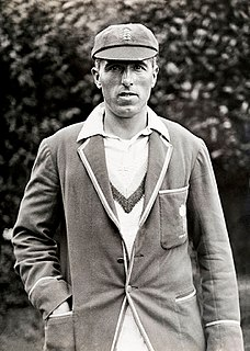 George Geary Cricket player of England.