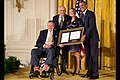 George H. W. Bush and Barack Obama present the 5,000th Daily Point of Light Award.jpg