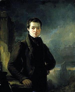 George Meikle Kemp - Portrait of Kemp by William Bonnar, circa 1840
