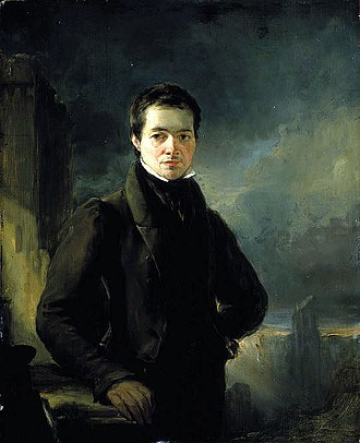 George Meikle Kemp - Portrait of Kemp by William Bonnar, circa 1840