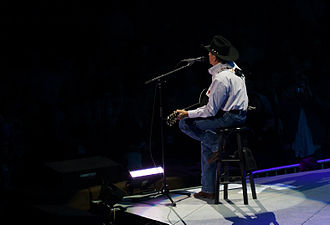 George Strait - Strait on the Cowboy Rides Away Tour, XL Center, Hartford, Connecticut, February 23, 2013