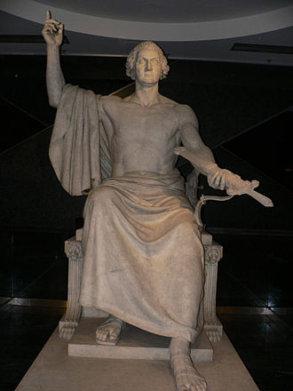Horatio Greenough - Image: George Washington statue 1