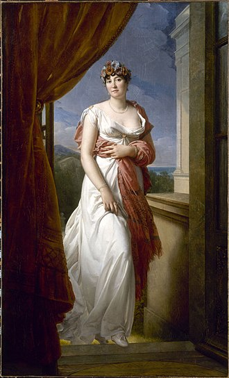 When Princesse de Chimay, by Francois Gerard, 1804 Gerard - Madame Tallien.JPG