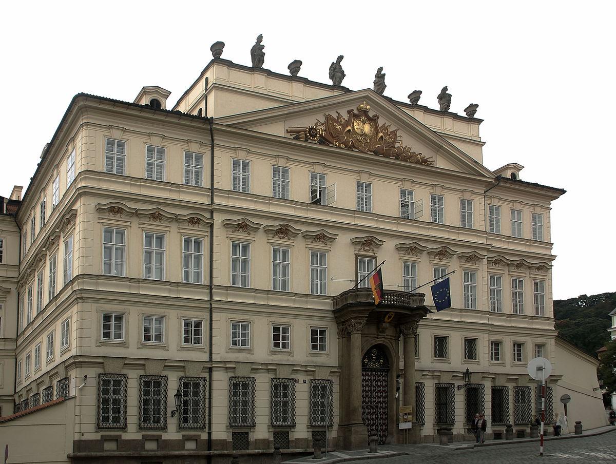 embassy of germany prague wikipedia. Black Bedroom Furniture Sets. Home Design Ideas