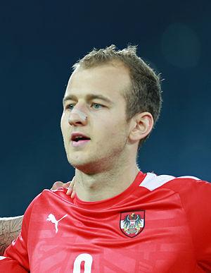 Gernot Trauner - Image: Gernot Trauner U21 Austria vs. Albania 2014 03 05 01