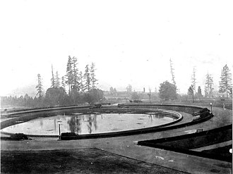 University of Washington - Geyser Basin at the University of Washington, 1919