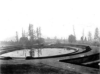 University of Washington - Geyser Basin at the University of Washington, 1919