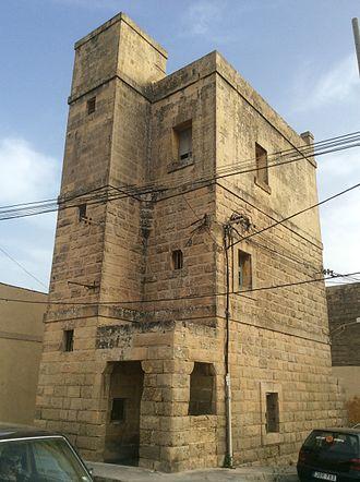 Għaxaq - The Għaxaq Semaphore Tower, which was built in 1848