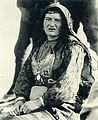 Gheg woman in Zadrima (Carleton Coon, 1929).jpg