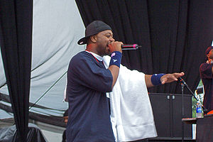Ghostface at the Virgin Festival in 2007.