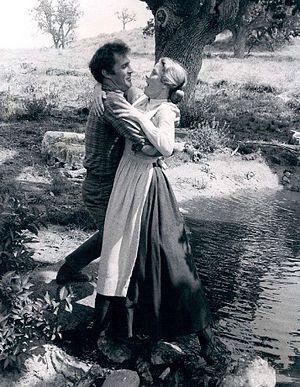 Karen Grassle - Gil Gerard and Karen Grassle in Little House on the Prairie (1977)