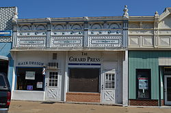 Girard Press Office, Girard, Kansas