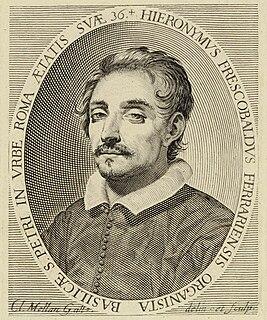 Girolamo Frescobaldi Italian composer and musician