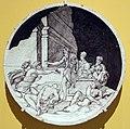 Girolamo della robbia, medaglione con la peste a firenze.JPG