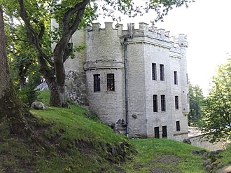 Glehn Castle - Image: Glehn's Castle in July 2017 4