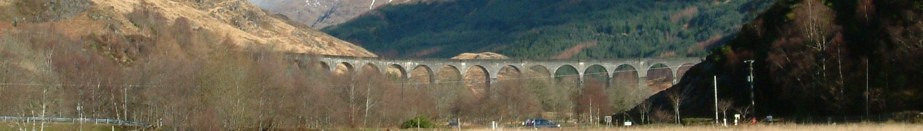 Glenfinnan Viaduct on the West Highland Railway