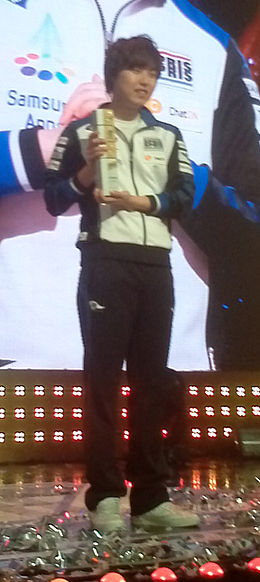 Global Starcraft 2 League season 1 champion Samsung khan Roro.jpg