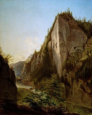 Jan Nepomucen Głowacki - Image: Glowacki Jan Nepomucen.1840.Dolin a Koscieliska W Tatrach