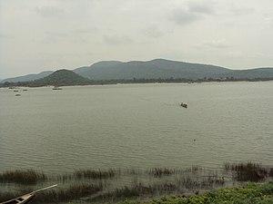 Parnasala - Godavari river at Parnasala