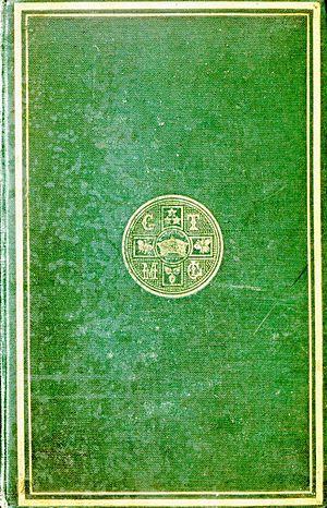 Palgrave's Golden Treasury - Gilt bordered boards of the 1861 first edition of Palgrave's Golden Treasury.