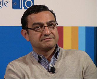 Vic Gundotra - Vic Gundotra at the Google I/O event 2010.