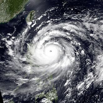 Typhoon Gordon (1989) - Image: Gordon jul 15 1989 0509Z