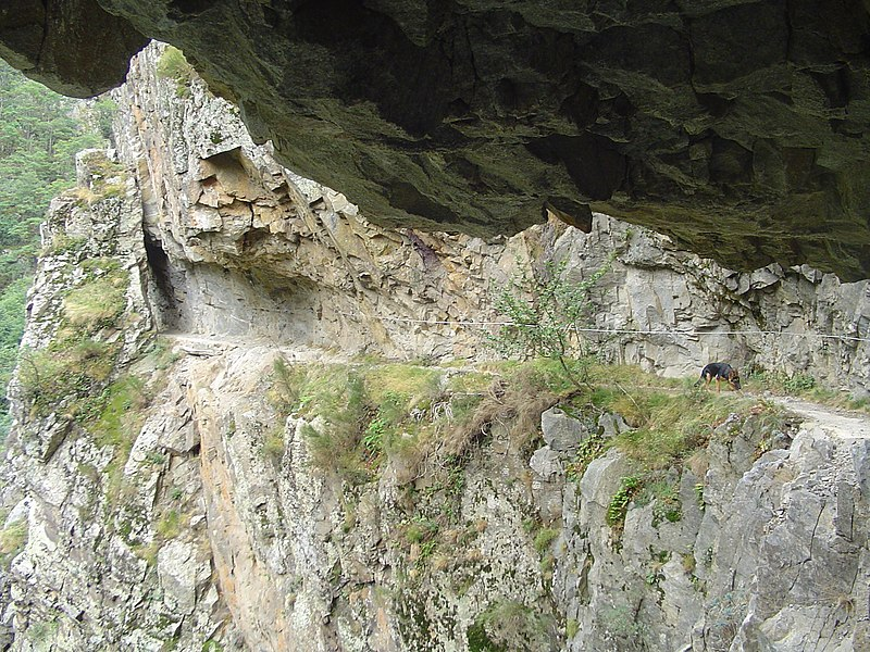 Gorges de Carançà (agost 2006)