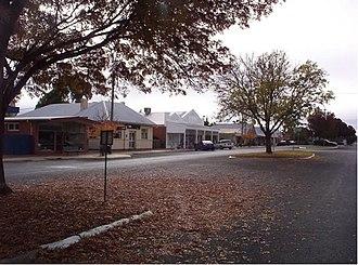 Goroke, Victoria - Main street