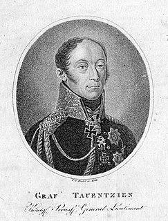 Bogislav Friedrich Emanuel von Tauentzien German general