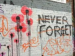 Glömma aldrig