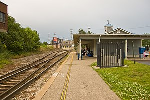 Vernon J. Ehlers Station - The former Grand Rapids station, used from 1984 to 2014