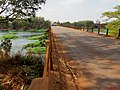 Grande seca de 2014, ponte do Rio Pardo entre Pontal e Cândia (distrito de Pontal). Em outubro de 2014, o Rio Pardo registrou em Ribeirão Preto a marca de 34 centímetros de profundidade, atingindo - panoramio (1).jpg