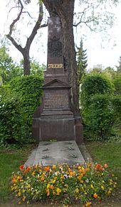 Grabstätte von Andreas Streicher (Quelle: Wikimedia)