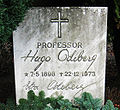 Grave of swedish professor Hugo Odeberg lund sweden.jpg