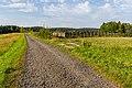 Gravel road between Horní Lideč and Pulčín, Czech Republic 14.jpg