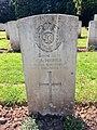 Gravestone of Lance Corporal Charles Adam Fosher of the Royal Engineers, Western Cemetery, Cardiff, May 2020.jpg