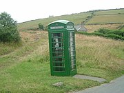 Manx phone box
