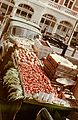 Greengrocer, scale, colorful, automobile, commercial vehicle Fortepan 85094.jpg
